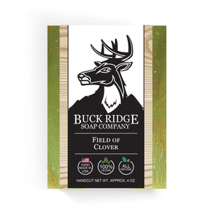 Buck Ridge Natural Handmade Vegan Soap - Field of Clover