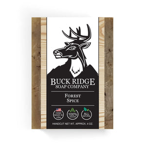 Buck Ridge Natural Handmade Vegan Soap - Forest Spice