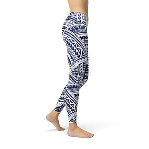 Polynesian Maori Tattoo Leggings