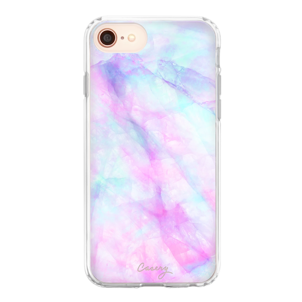 Casery iPhone Phone Case - Iridescent Crystal