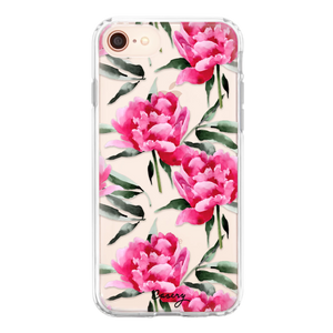 Casery iPhone Phone Case - Peony Pink