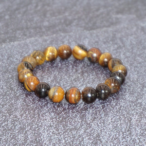 Women's Tiger-eye Stone Balancing Stretch Bracelet