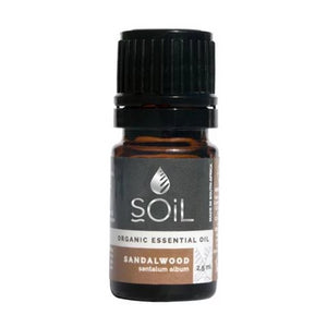 Organic Sandalwood Oil (Santalum Album) 2.5ml