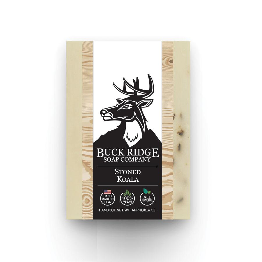 Buck Ridge Natural Handmade Vegan Soap - Stoned Koala
