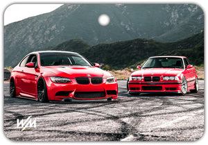 Air Freshener - E92 vs E36 @findingnick /Citrus