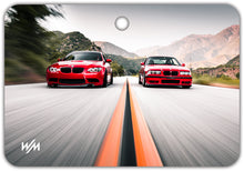 Load image into Gallery viewer, Air Freshener - E92 vs E36 @findingnick /Citrus