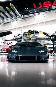 Print - Huracan and Bomber