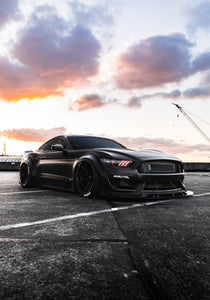 Print - Widebody Mustang