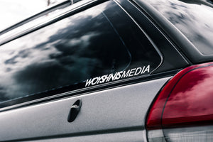 "Small Sticker - ""Woyshnis Media"""