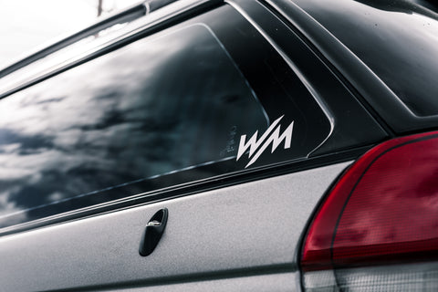 WM Logo Sticker