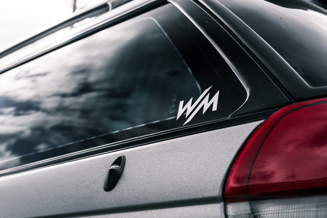 Square Sticker - WM Logo