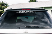 "Load image into Gallery viewer, Large Sticker - ""Woyshnis Media"""