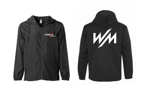 Windbreaker - Red Logo on front and WM on back