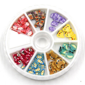 Animal Slice Wheel 1 Piece - Slime Kitty