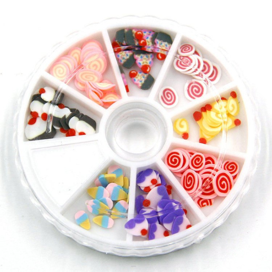 Candy Slice Wheel 1 Piece - Slime Kitty