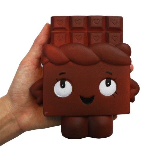 Chocolate Bar Squishy Slow Rising Scented - Slime Kitty