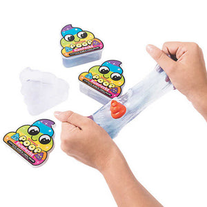 Clear Poop Slime Putty 1 Piece - Slime Kitty