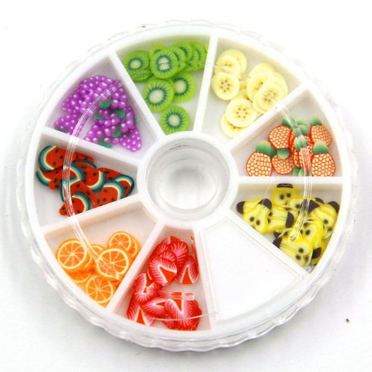Fruit Slice Wheel 1 Piece - Slime Kitty