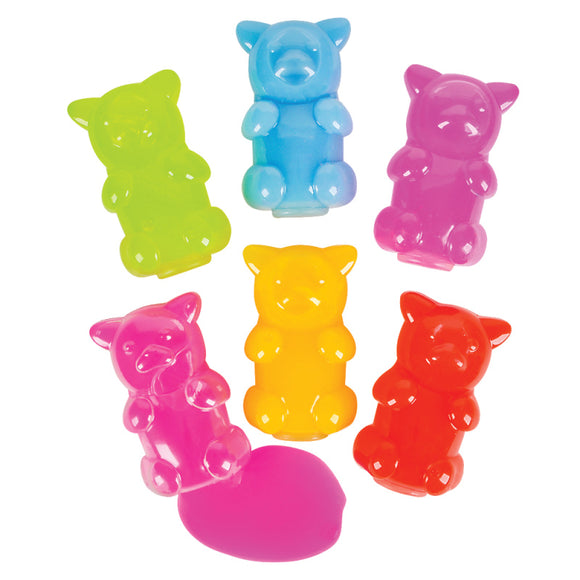 Gummy Bear Putty 2 Pieces - Slime Kitty