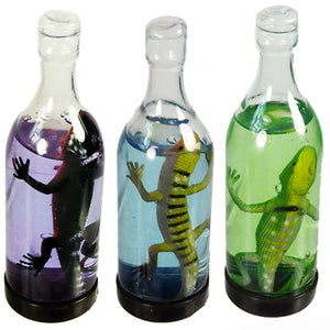 Lizard In A Bottle Slime Putty Clear - 1 Piece - Slime Kitty