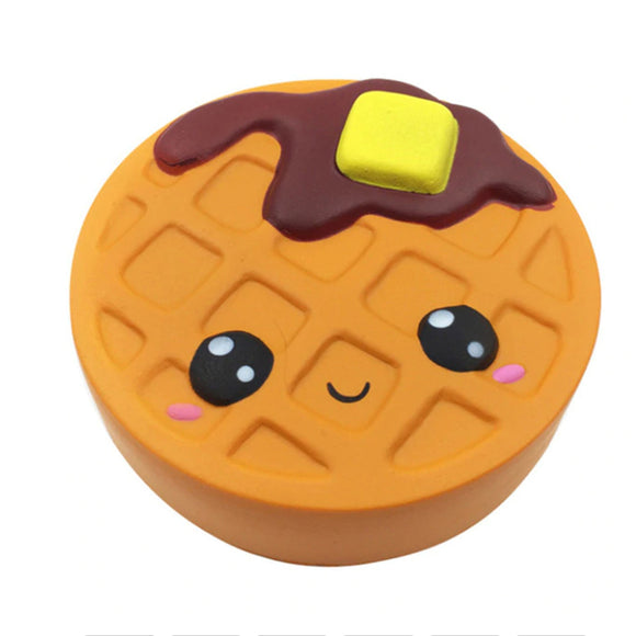 Waffle Jumbo Slow Rising Squishy Toys Squishies Scented - Slime Kitty