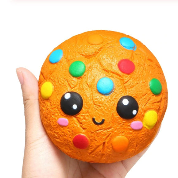 Rainbow Cookie Jumbo Slow Rising Squishy Toys Squishies Scented - Slime Kitty