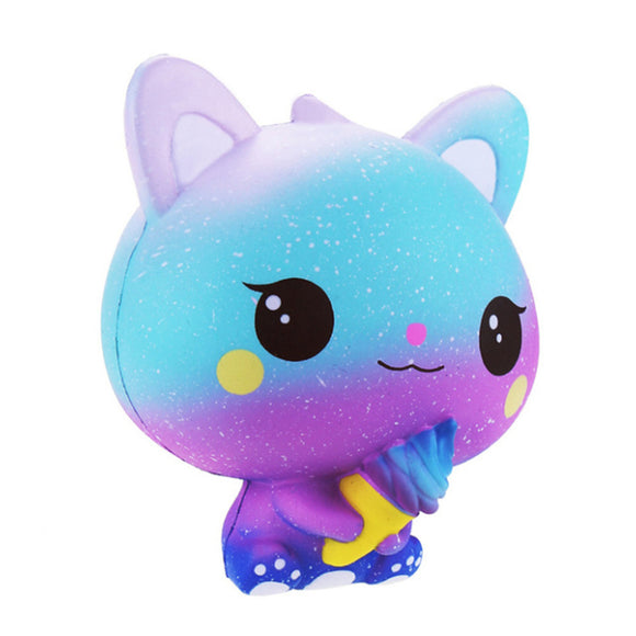 Ice Cream Cat Jumbo Slow Rising Squishy Toys Squishies Scented - Slime Kitty