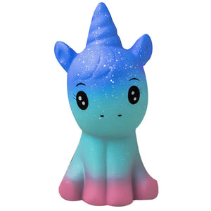 Galaxy Unicorn Jumbo Slow Rising Squishy Toys Squishies Scented - Slime Kitty