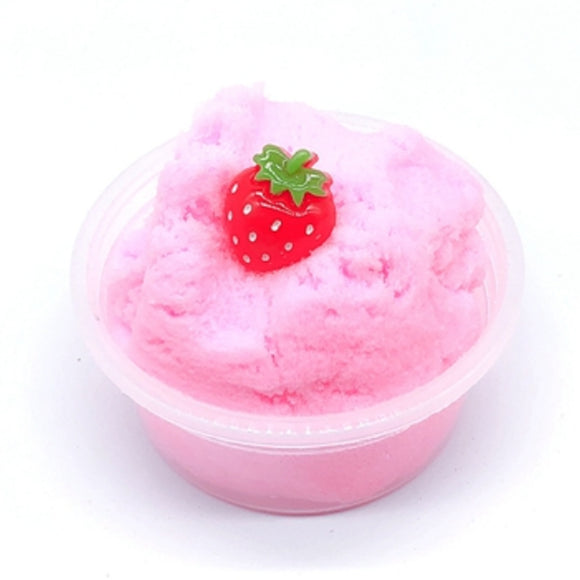 Strawberry Cloud Slime - Slime Kitty