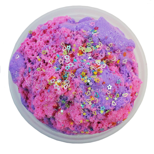 Unicorn Cloud Cotton Candy Scented  Slime - Slime Kitty