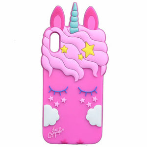 Unicorn Dreams iPhone Case Cover - Slime Kitty