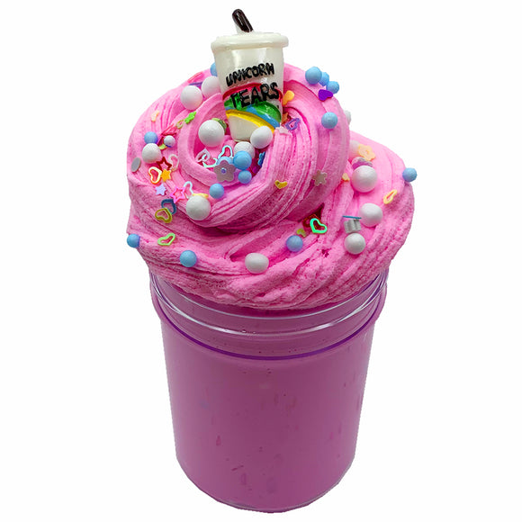 Unicorn Frappuccino Fluffy Butter Scented Slime - Slime Kitty