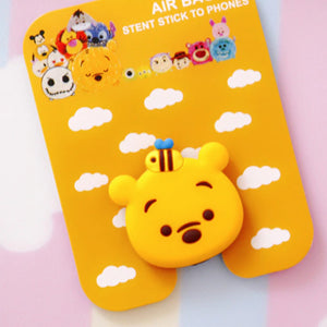 Yellow Bear Finger Grip Stand for Phones - Slime Kitty