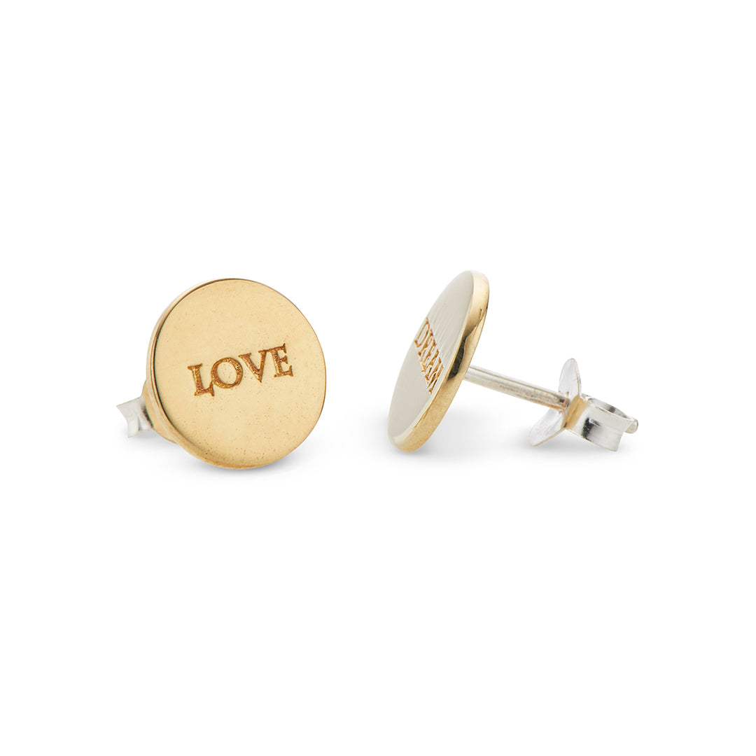 Love Dream Stud Earrings