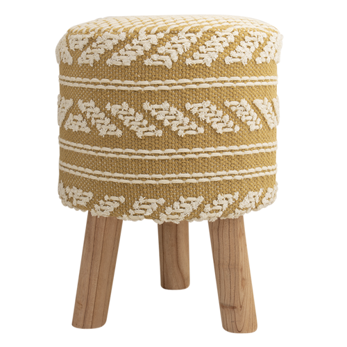 Island Time Stool Wheat