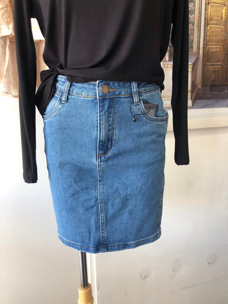 The Penny Denim Skirt