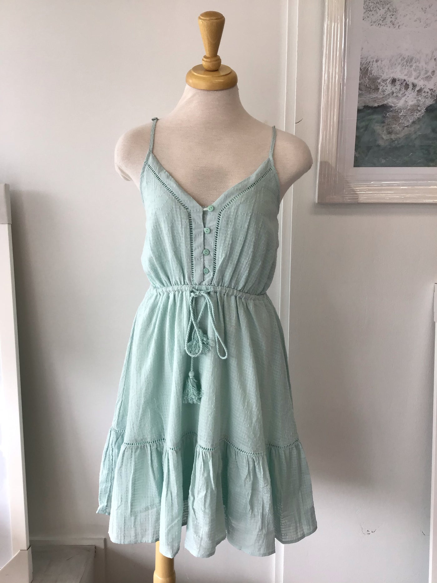Ivy Dress- Mint