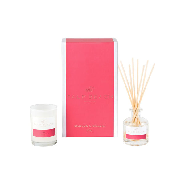 Posy Mini Candle and Diffuser Set