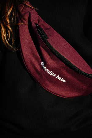 belt bag wine