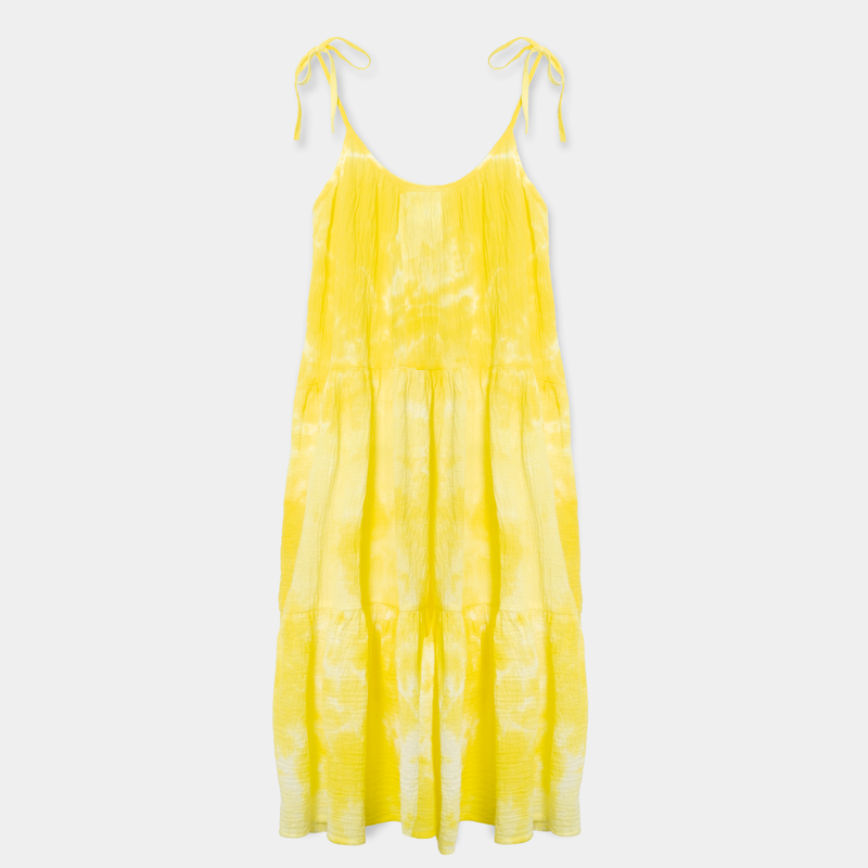 Tie Dye Daisy Dress