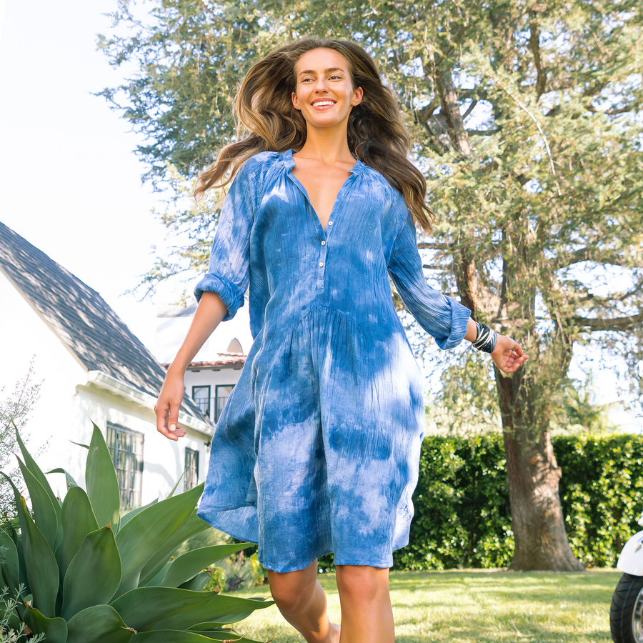 Tie-Dye Paola Dress