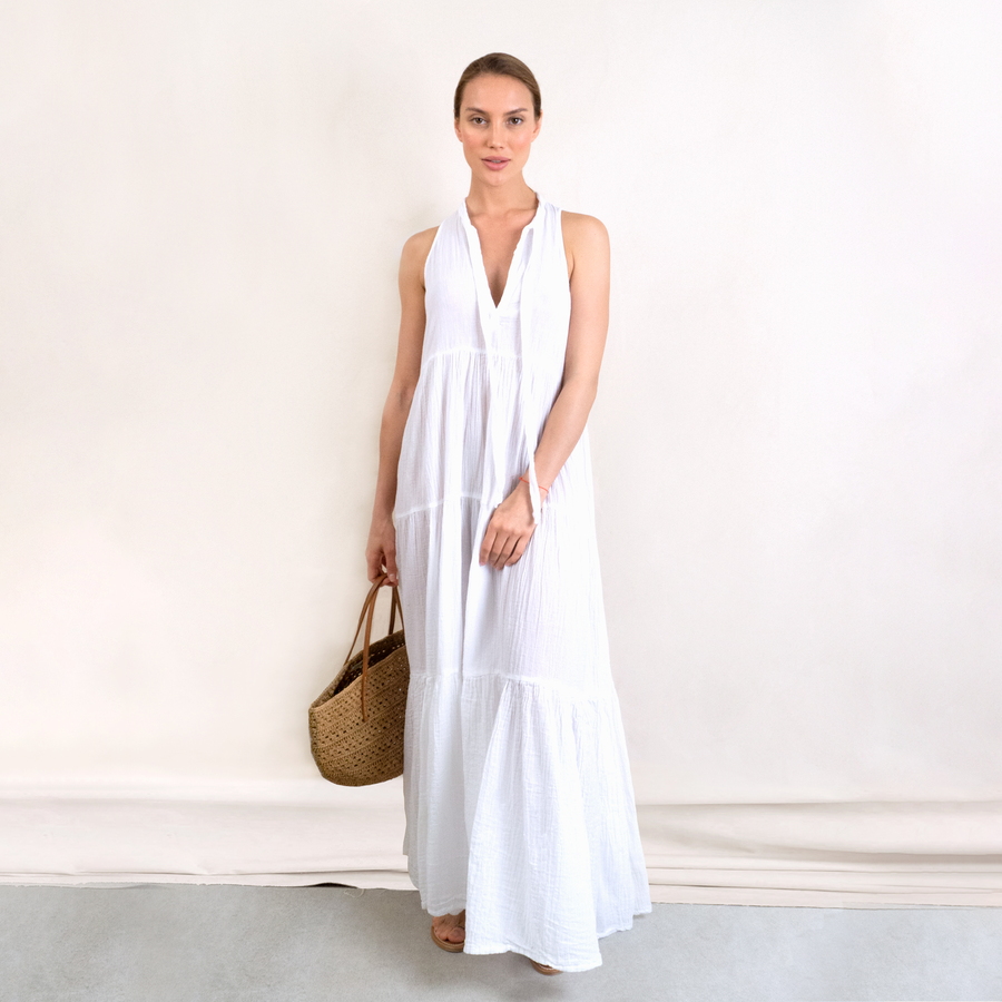 Long Eve Double Gauze Dress
