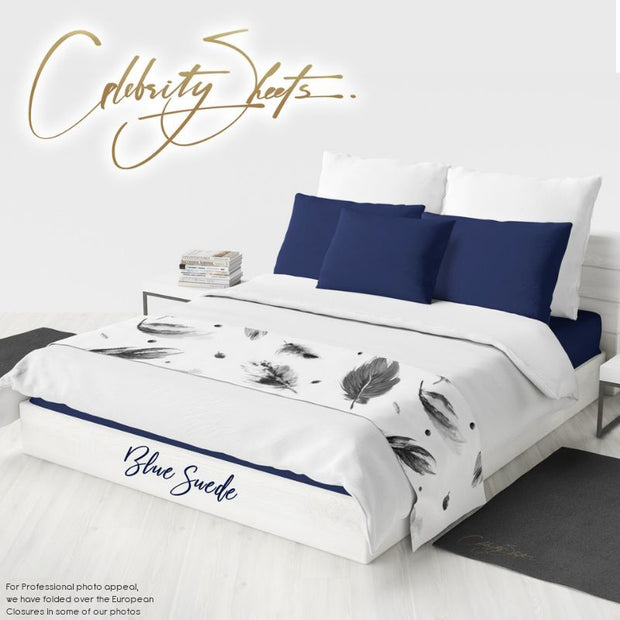 Blue Suede Sheet Sets