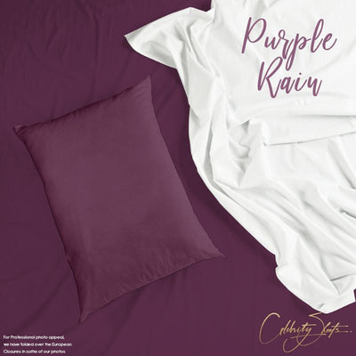 Purple Rain Pillow Case Set