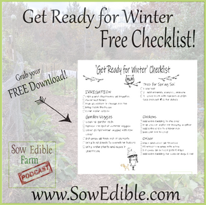 'Get Ready for Winter' Checklist (FREE Download)