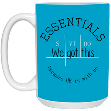We got this essentials 15 oz. White Mug