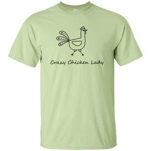 crazy chicken T-Shirt