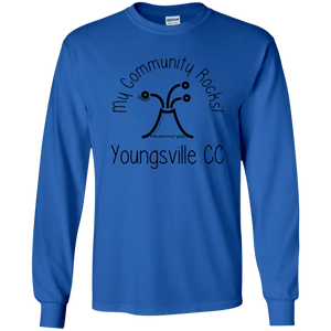 community rocks Gildan Youth LS T-Shirt