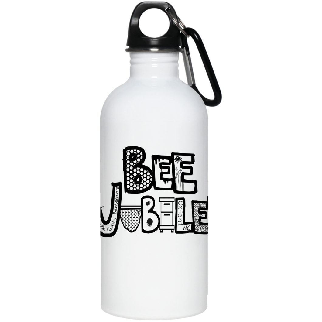 BEE JUBILEE FINAL DESIGN 23663 20 oz. Stainless Steel Water Bottle