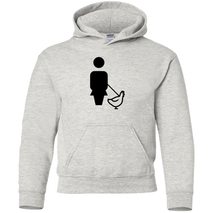 WALK CHICKEN Gildan Youth Hoodie